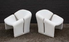 Pierre Paulin Early Pair of French Model F580 Lounge Chairs by Pierre Paulin for Artifort - 1484257