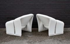 Pierre Paulin Early Pair of French Model F580 Lounge Chairs by Pierre Paulin for Artifort - 1484258