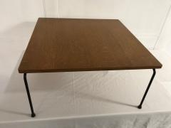 Pierre Paulin Oak plywood coffee table model CM192 - 2035693