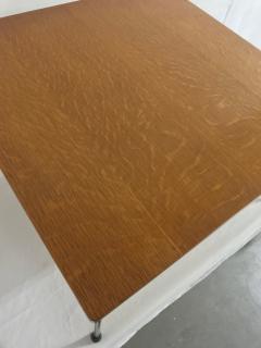 Pierre Paulin Oak plywood coffee table model CM192 - 2035698