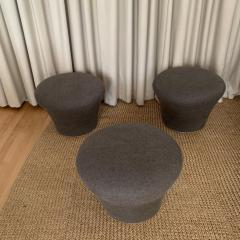 Pierre Paulin Original Pierre Paulin Mushroom Pouf or Stool by Artifort Netherlands 1960s - 1672199