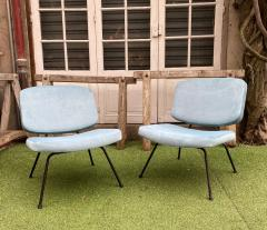 Pierre Paulin Pair of CM190 slipper chairs for Thonet - 2001349