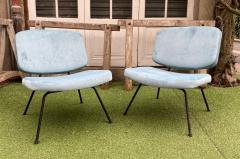 Pierre Paulin Pair of CM190 slipper chairs for Thonet - 2001350