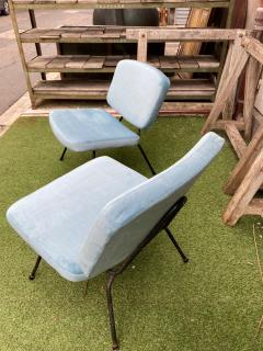 Pierre Paulin Pair of CM190 slipper chairs for Thonet - 2001351