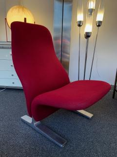 Pierre Paulin Pair of Concorde Armchairs by Pierre Paulin for Artifort Netherland 1960s - 1187951