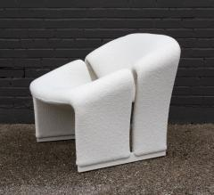 Pierre Paulin Pair of Pierre Paulin Lounge Chairs Early French Model F580 for Artifort - 1900707