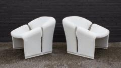 Pierre Paulin Pair of Pierre Paulin Lounge Chairs Early French Model F580 for Artifort - 1900709