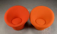 Pierre Paulin Pierre Paulin for Artifort pair of model Mushroom arm chairs - 869830
