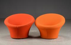 Pierre Paulin Pierre Paulin for Artifort pair of model Mushroom arm chairs - 869831