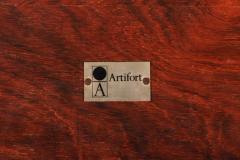 Pierre Paulin Rare Pierre Paulin Rosewood Coffee Table for Artifort 1960s - 1067233