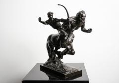 Pierre Traverse Classical Bronze Sculpture by French Sculptor Pierre Traverse Archer Centaur - 976393