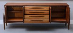 Piet Hein Fine Danish Modern Zebrawood Buffet Piet Hein - 348734