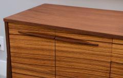 Piet Hein Fine Danish Modern Zebrawood Buffet Piet Hein - 348737
