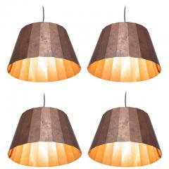 Piet Hein Pleated Copper Lamps by Piet Hein Eek - 457134