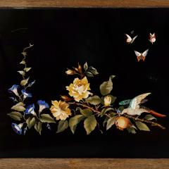 Pietra dura inlay Italian coffee table - 1443644