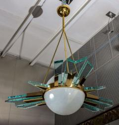 Pietro Chiesa 1960s italian chandelier - 726597