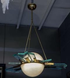 Pietro Chiesa 1960s italian chandelier - 726600