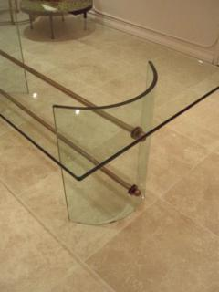 Pietro Chiesa An All Crystal Dining Table by Pietro Chiesa for Fontana Arte - 256625