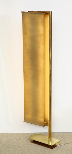 Pietro Chiesa FLOOR LAMP WITH LINEN PANEL SHADES BY PIETRO CHIESA FOR FONTANA ARTE - 1845899