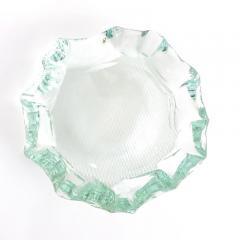 Pietro Chiesa Italian Glass Dish or Vide Poche by Pietro Chiesa for Fontana Arte - 432872