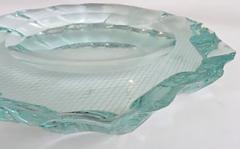 Pietro Chiesa Italian Glass Dish or Vide Poche by Pietro Chiesa for Fontana Arte - 433818