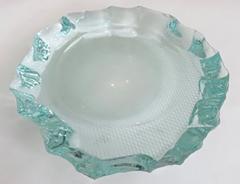 Pietro Chiesa Italian Glass Dish or Vide Poche by Pietro Chiesa for Fontana Arte - 433819