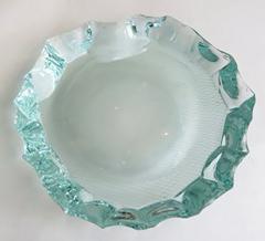 Pietro Chiesa Italian Glass Dish or Vide Poche by Pietro Chiesa for Fontana Arte - 433820