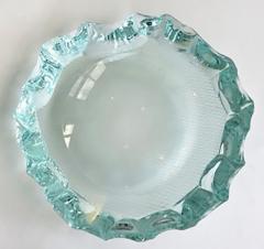 Pietro Chiesa Italian Glass Dish or Vide Poche by Pietro Chiesa for Fontana Arte - 433821