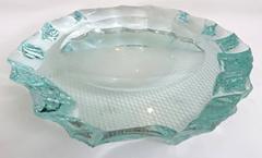 Pietro Chiesa Italian Glass Dish or Vide Poche by Pietro Chiesa for Fontana Arte - 433822