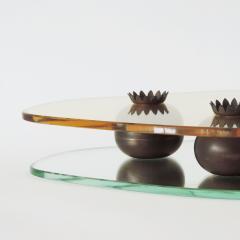 Pietro Chiesa Pietro Chiesa Glass and Brass Centrepiece for Fontana Arte Italy 1938 - 1951934