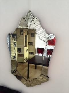 Pietro Chiesa Post War Exquisite Mirror by Pietro Chiesa for Fontana Arte - 114342