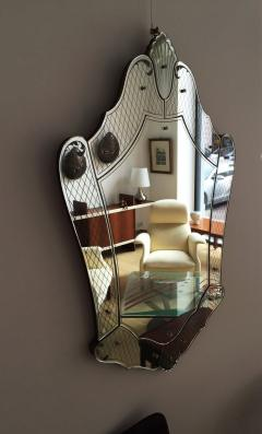 Pietro Chiesa Post War Exquisite Mirror by Pietro Chiesa for Fontana Arte - 114343