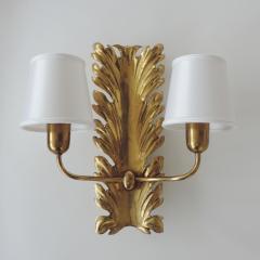 Pietro Chiesa Spledid Pietro Chiesa wall lamps for Fontana Arte Italy 1940s - 912499