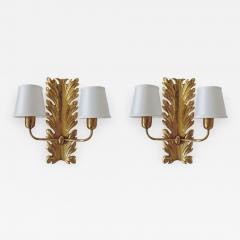 Pietro Chiesa Spledid Pietro Chiesa wall lamps for Fontana Arte Italy 1940s - 912778