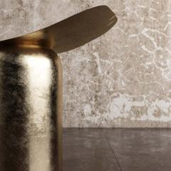 Pietro Franceschini Contemporary Aged Brass Gueridon by Pietro Franceschini - 1479092