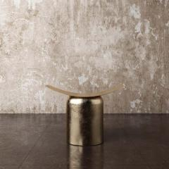 Pietro Franceschini Contemporary Aged Brass Stool by Pietro Franceschini - 1481412