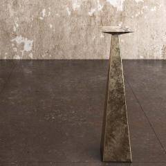 Pietro Franceschini Contemporary Aged Brass Stool by Pietro Franceschini - 1481416