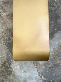Pietro Franceschini Steel Gold Arch Bench by Pietro Franceschini - 1758718