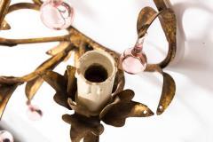 Pink Crystal Sconces - 1325725