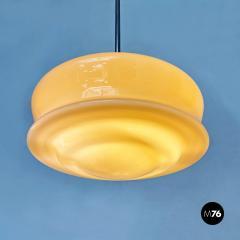 Pink glass chandelier 1920s - 2135190