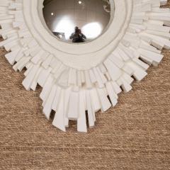 Plaster Sunburst Mirror - 1100089