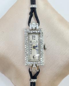 Platinum Patek Philippe Ladies Watch - 1906413