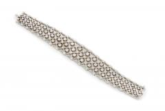 Platinum diamond bracelet - 1148032