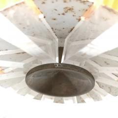Plexiglass multicoloured ceiling lamp 1970s - 1936106