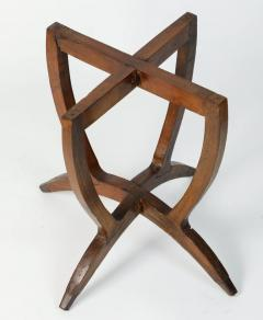 Polished Moroccan Brass Tray Side Table on Spider Leg 1950 - 1302572