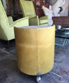 Poltrona Frau Italian 1960s Frau Leather Nightstand - 600893