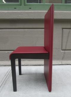 Poltrona Frau Six Leather Dining Chairs by Poltrona Frau - 429803