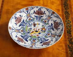 Polychrome Delft Deep Dish - 685822