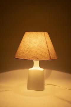Porcelain lamp Alboth Kaisen 50s Germany - 1837903