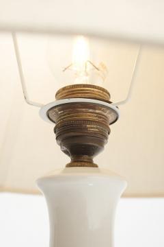 Porcelain lamp Alboth Kaisen 50s Germany - 1837916